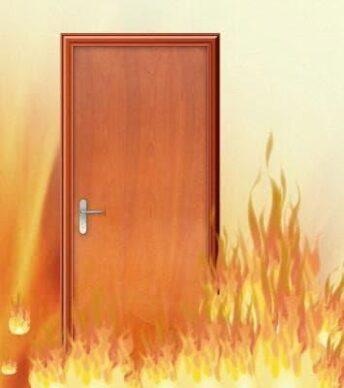 Bản Vẽ Cấu Tạo Cửa Gỗ Công Nghiệp Chống Cháy